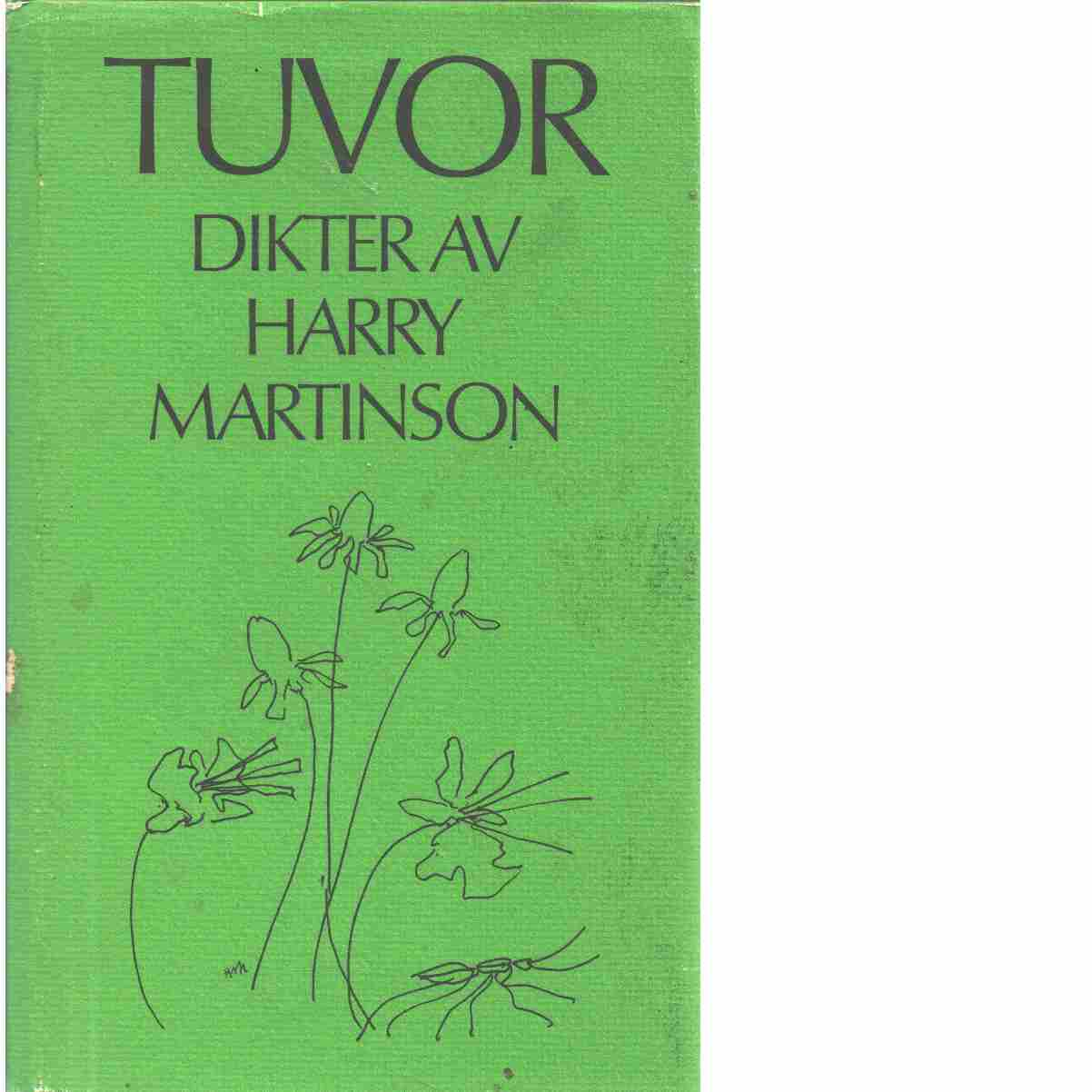Tuvor : [dikter] - Martinson, Harry