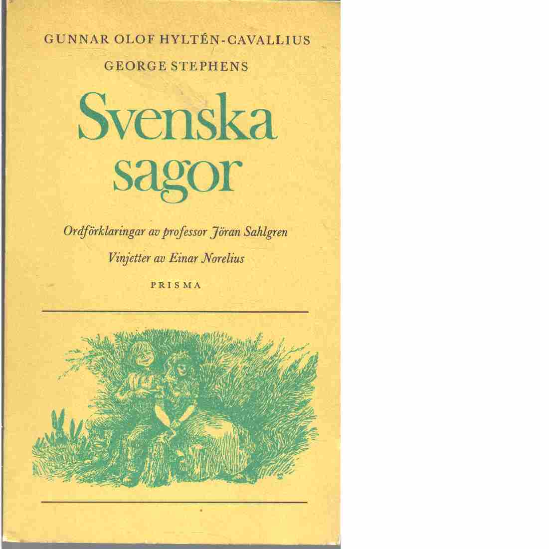 Svenska sagor. D. 1 - Red. Hyltén-Cavallius, Gunnar Olof