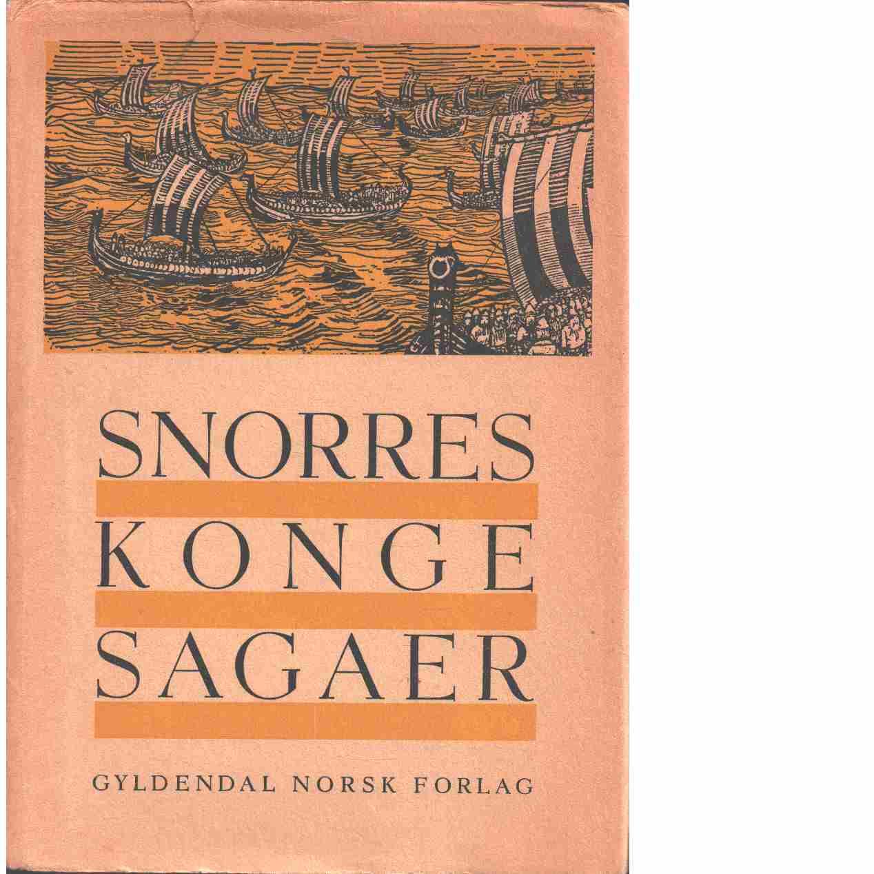 Snorres kongesagaer - Snorre Sturlasson