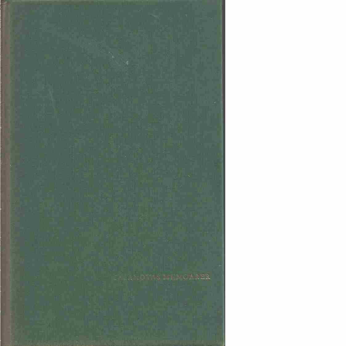 Casanovas memoarer tiden omkring 1745-1748 - Casanova, Giovanni Giacomo