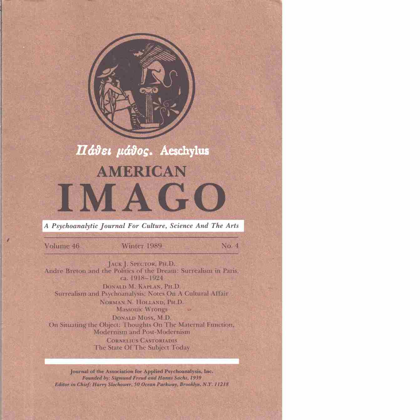 American imago.  - Red.