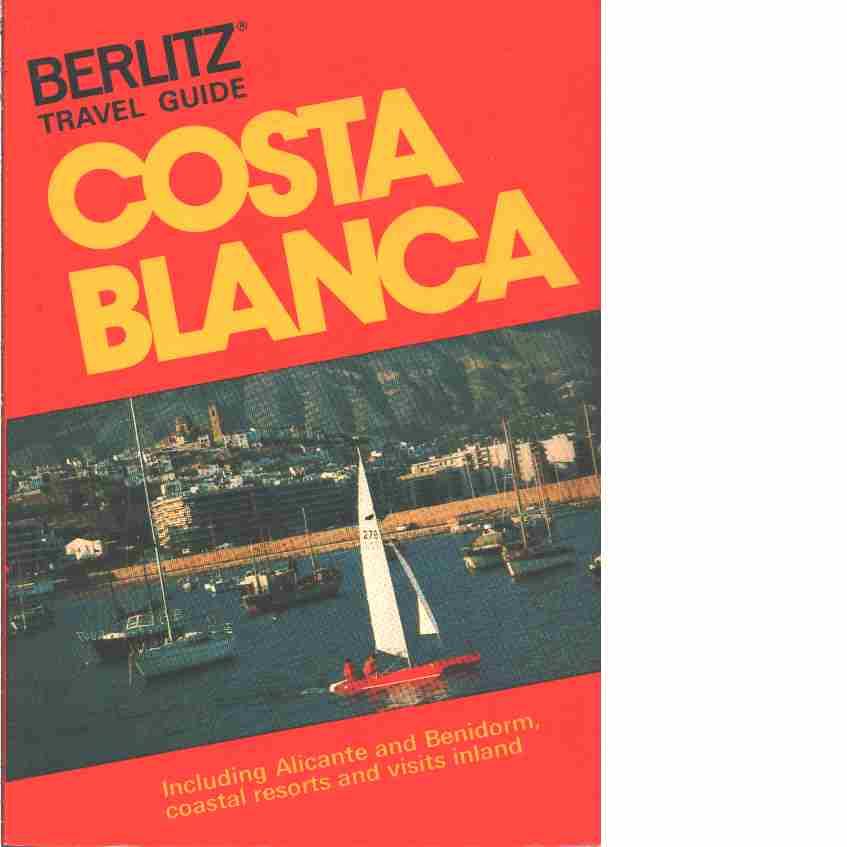 Costa Blanca : en reseguide - Red.