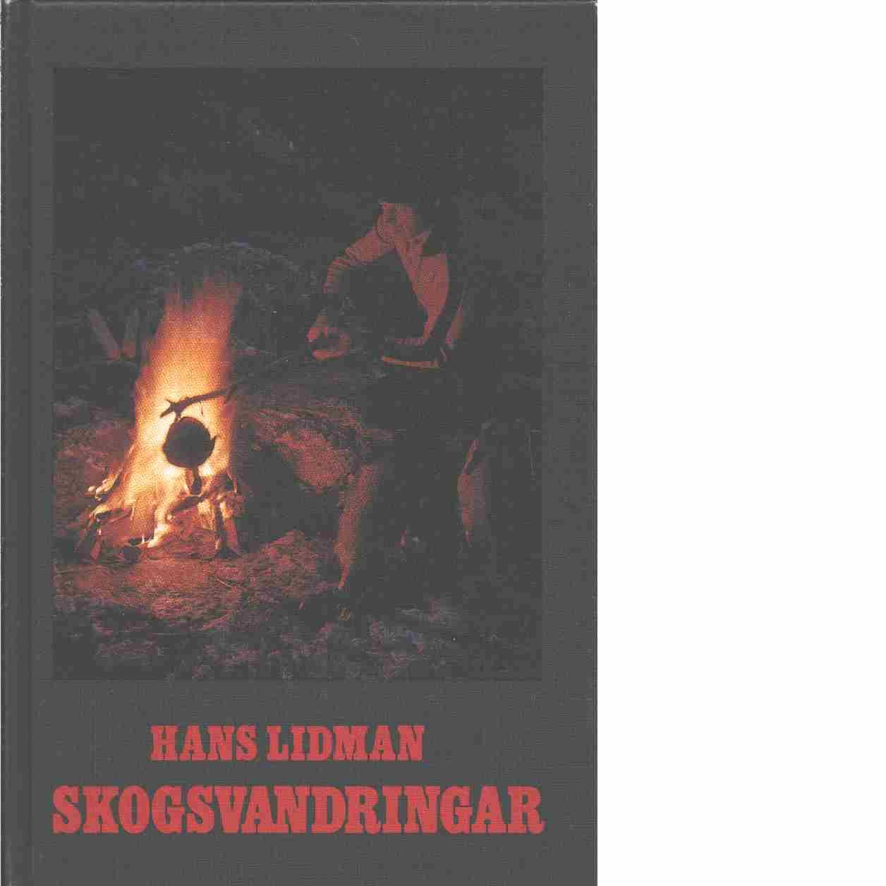 Skogsvandringar - Lidman, Hans