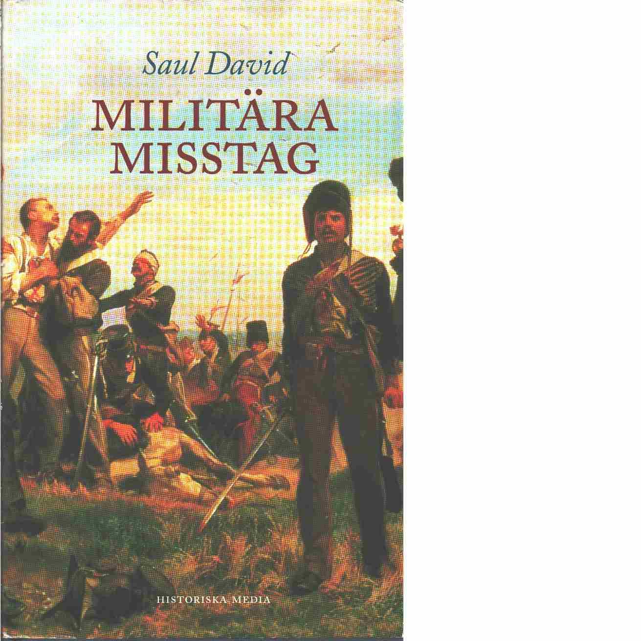 Militära misstag - David, Saul