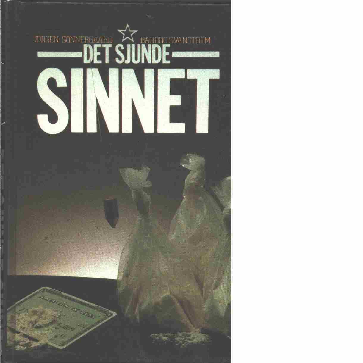 Det sjunde sinnet - Sonnergaard, Jørgen ochSvanström, Barbro