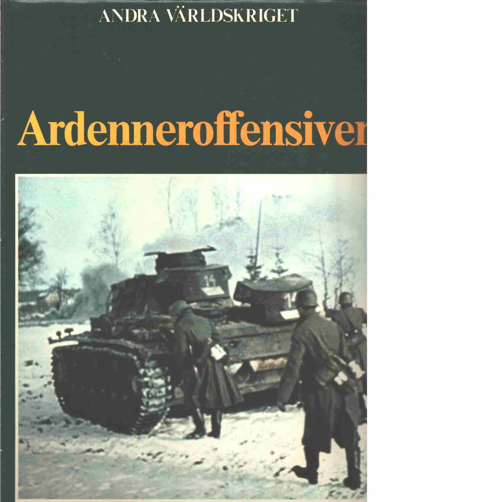 Ardenneroffensiven - Bauer, Eddy