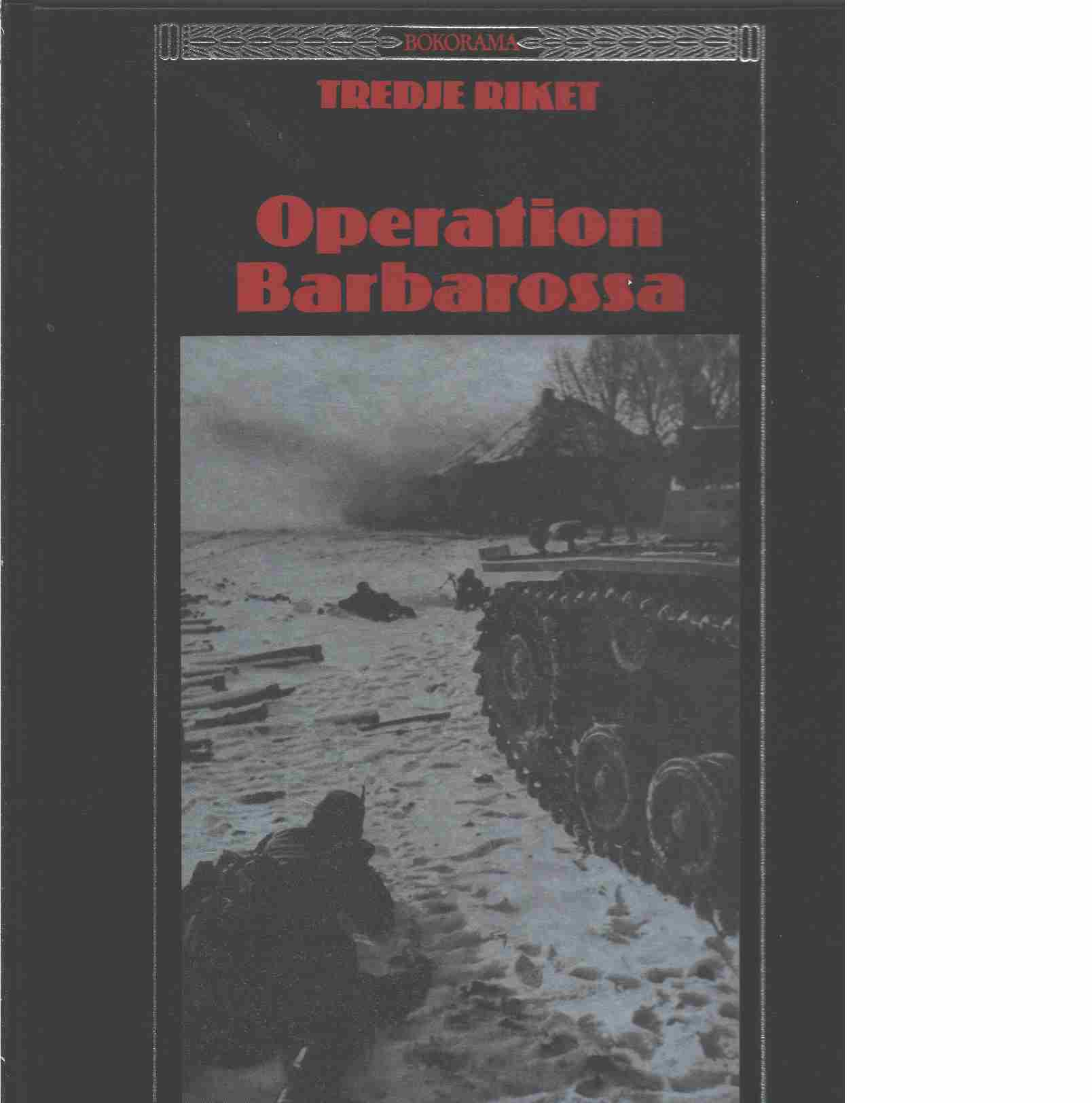 Operation Barbarossa - Red. Time-Life Books