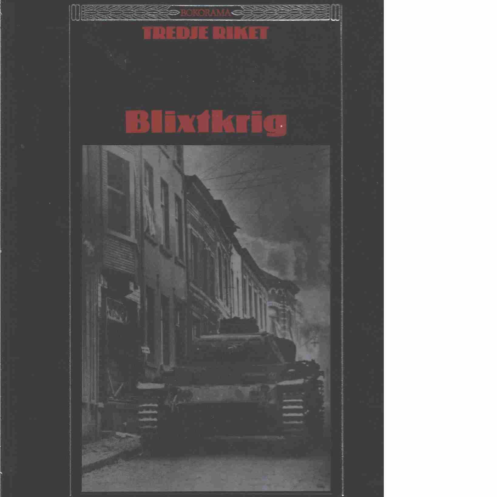 Blixtkrig - Gemzell, Carl-Axel