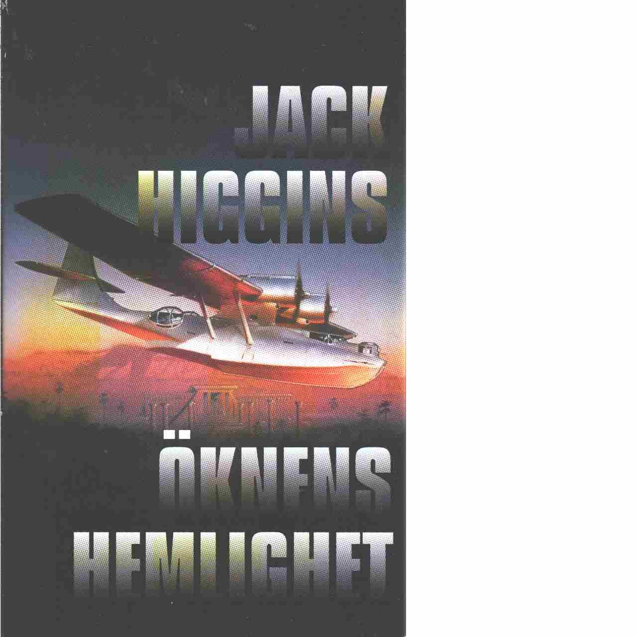 Öknens hemlighet - Higgins, Jack