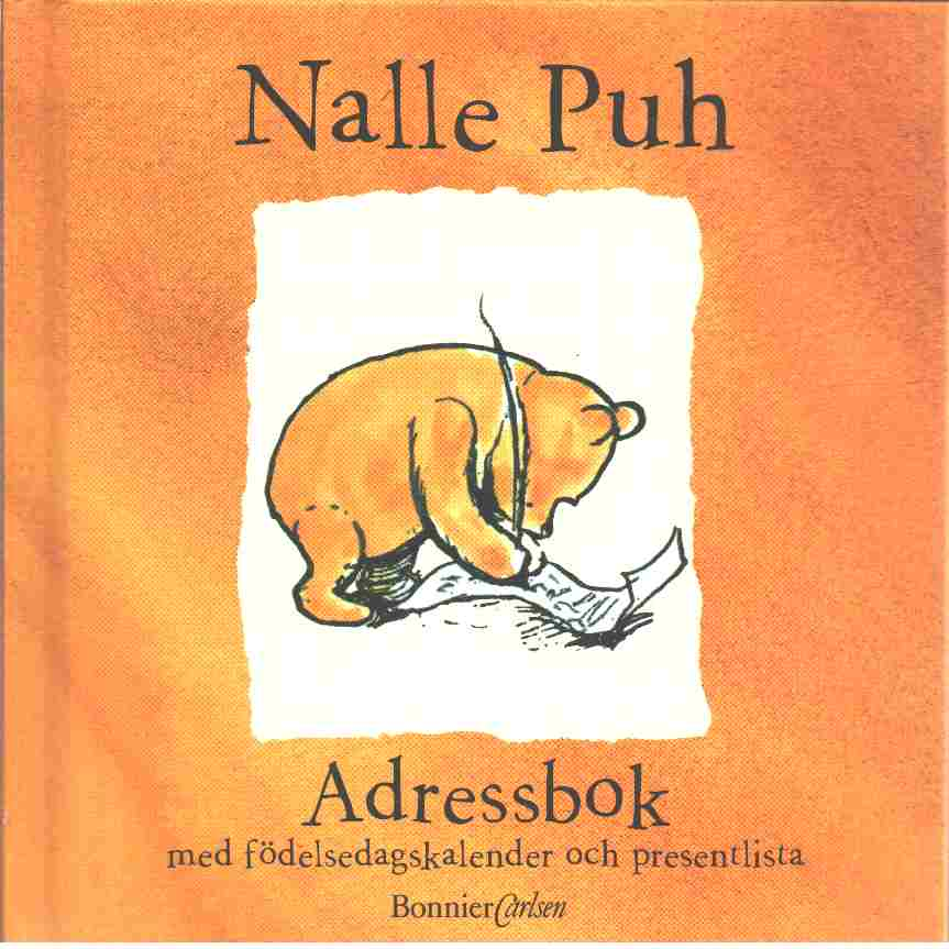 Nalle puh : Adressbok - Millne A.A.