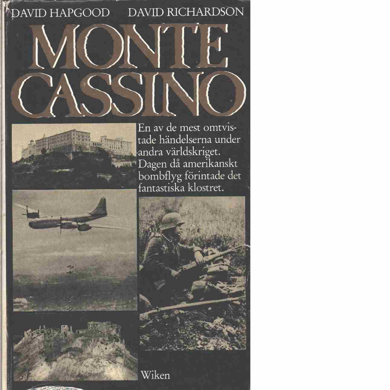 Monte Cassino - Hapgood, David och Richardson, David