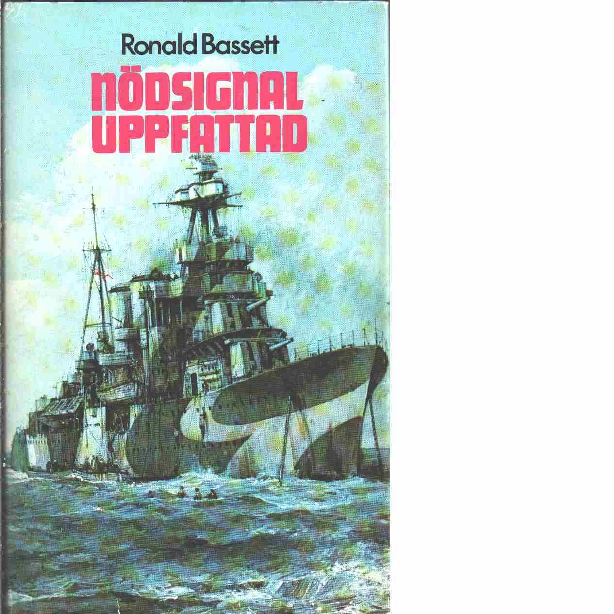 Nödsignal uppfattad  - Bassett, Ronald