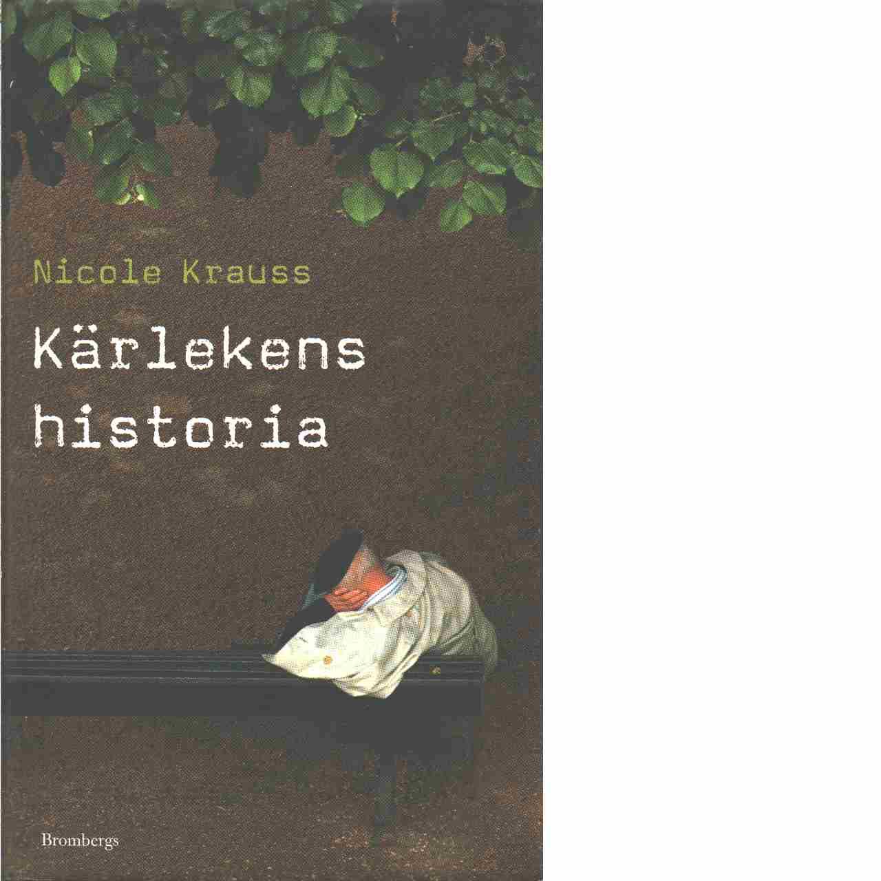 Kärlekens historia  - Krauss, Nicole