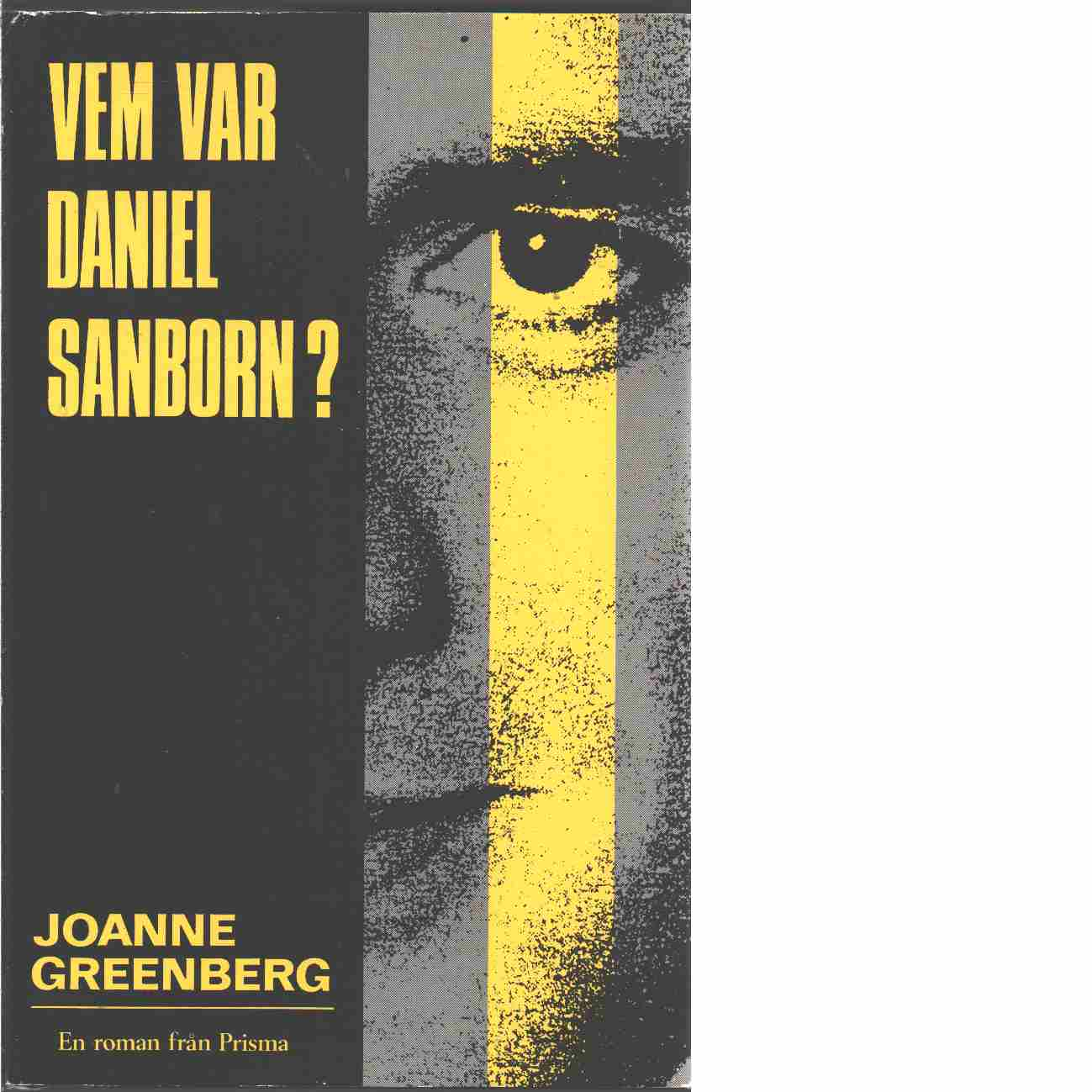 Vem var Daniel Sanborn? - Greenberg, Joanne