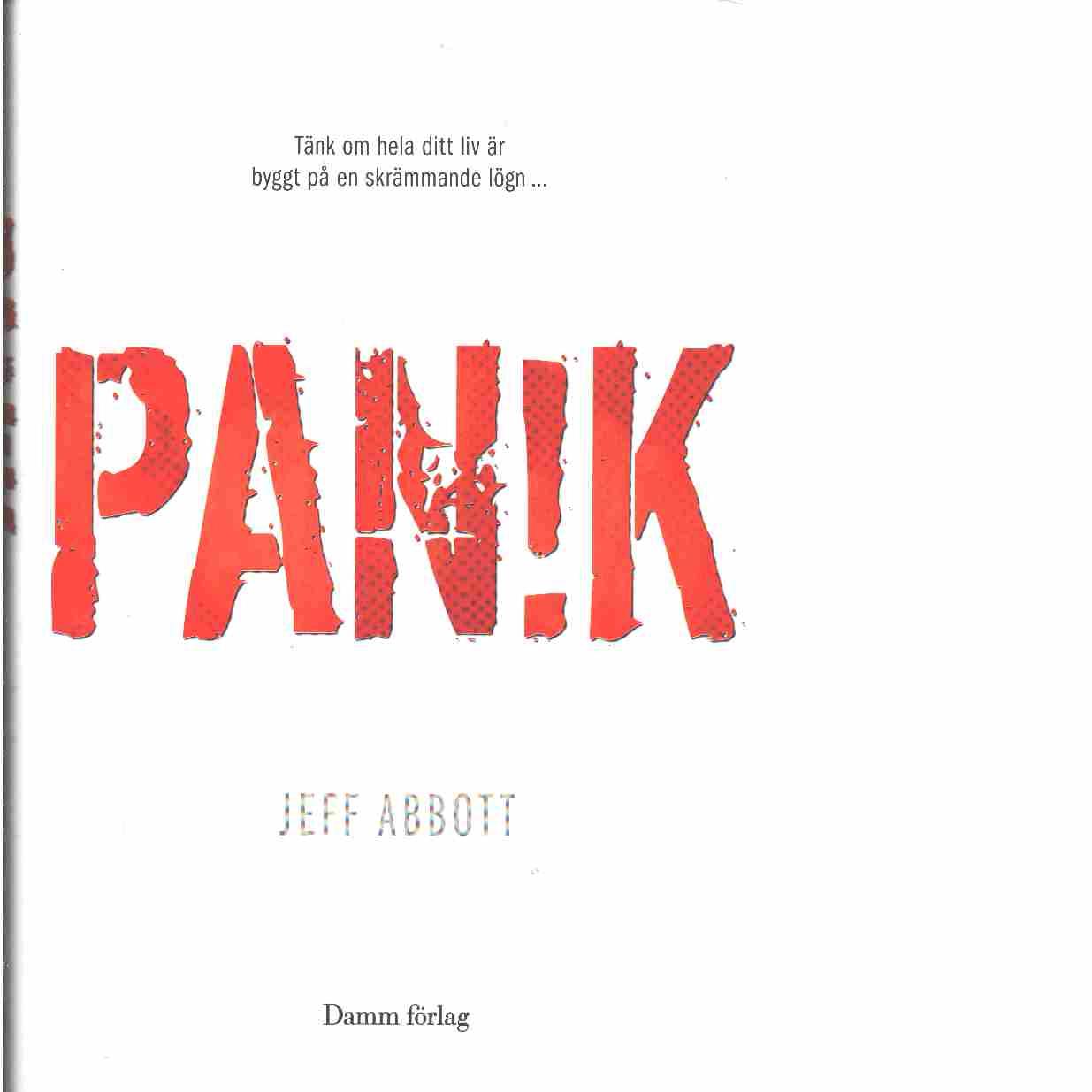 Panik  - Abbott, Jeff