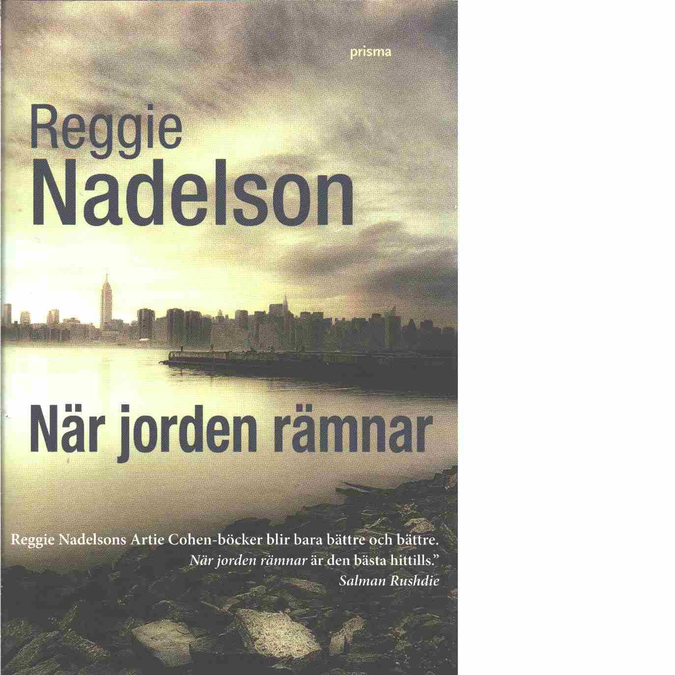 När jorden rämnar - Nadelson, Reggie