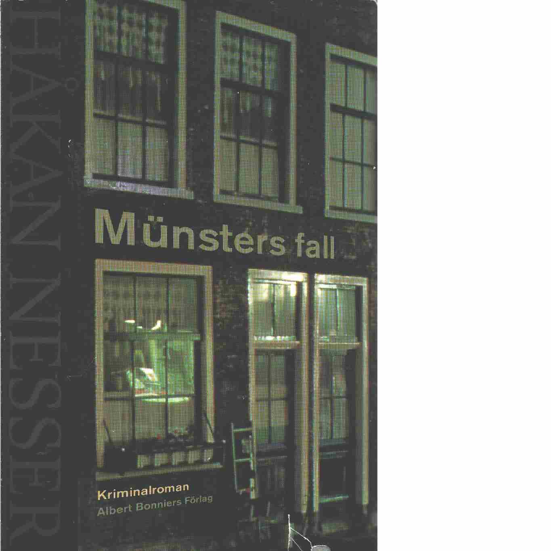 Münsters fall - Nesser, Håkan