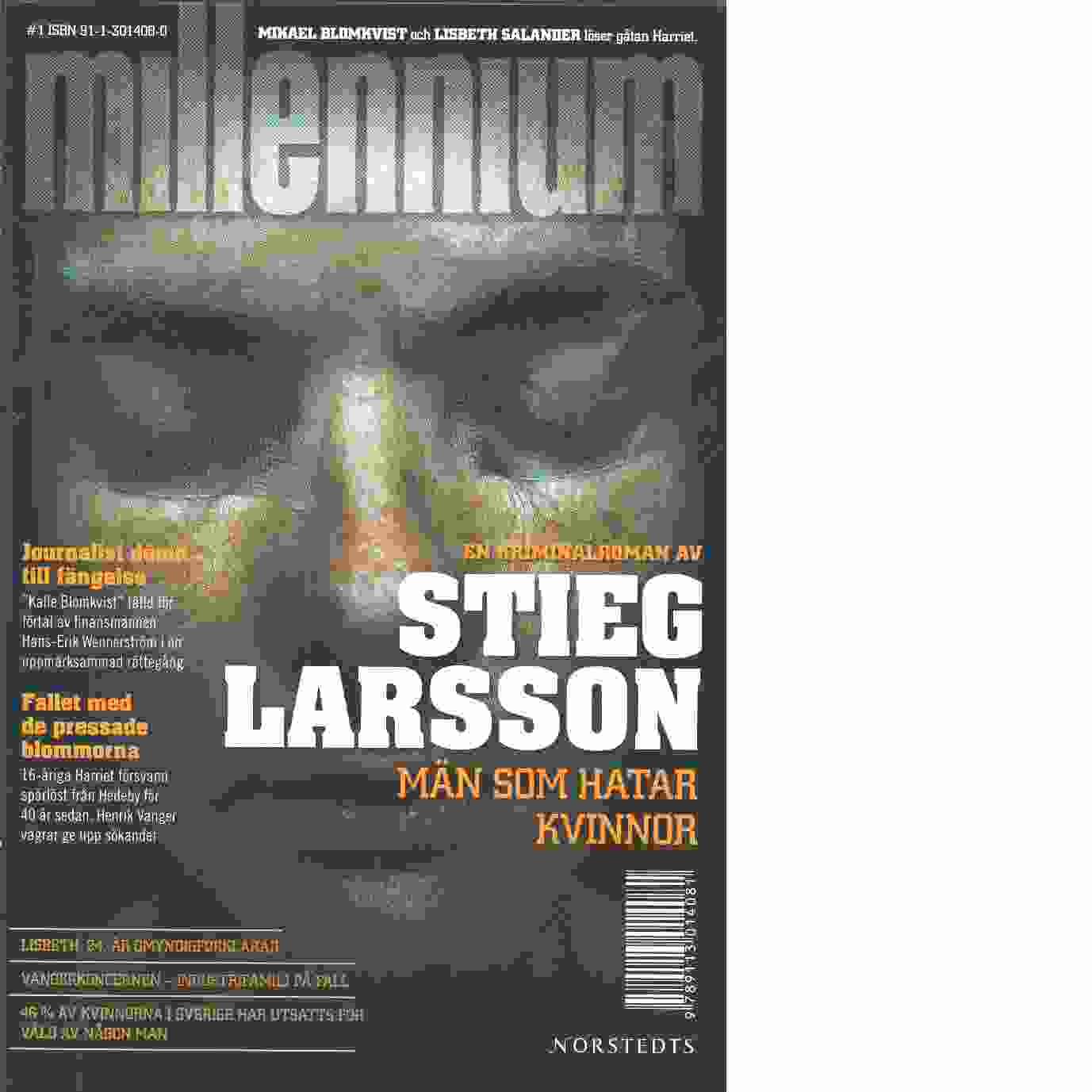 Män som hatar kvinnor - Larsson, Stieg