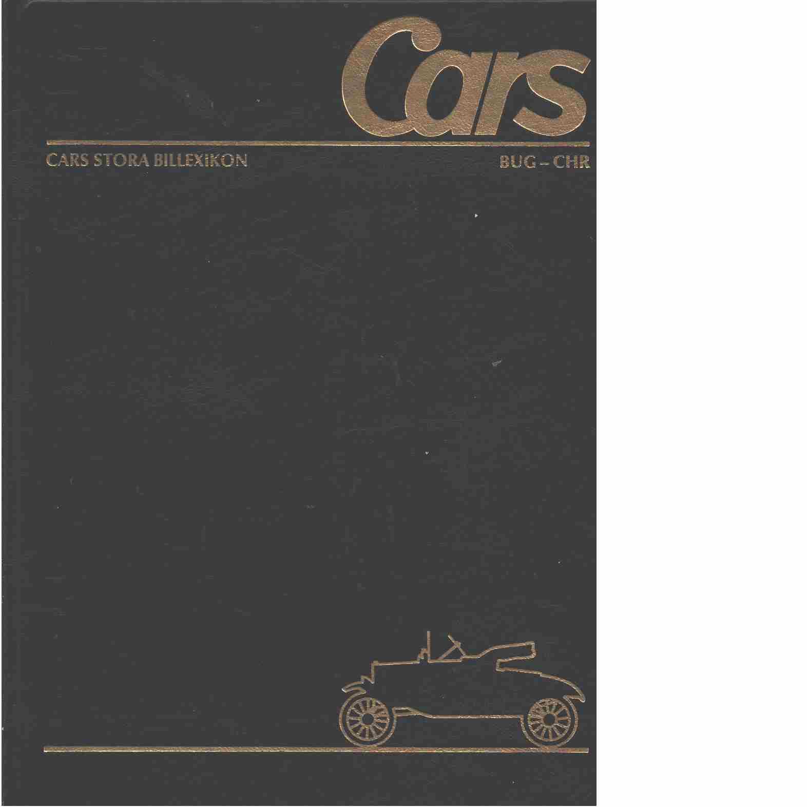 Cars stora billexikon. 7, Bugatti-Gulinelli-Christie - Red.