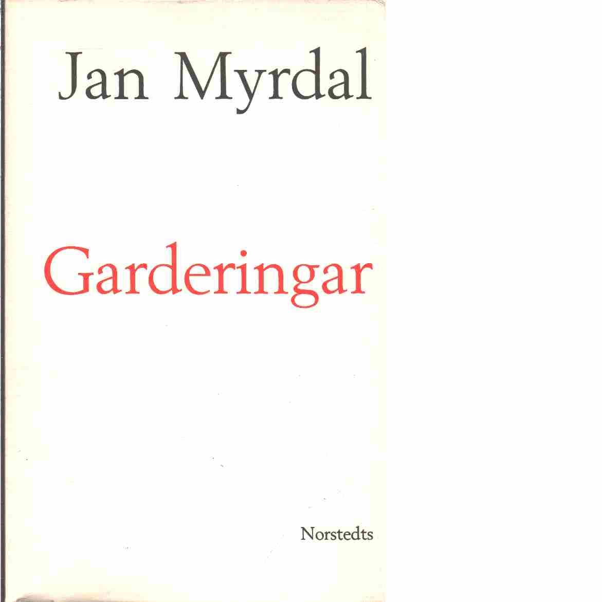 Garderingar  - Myrdal, Jan