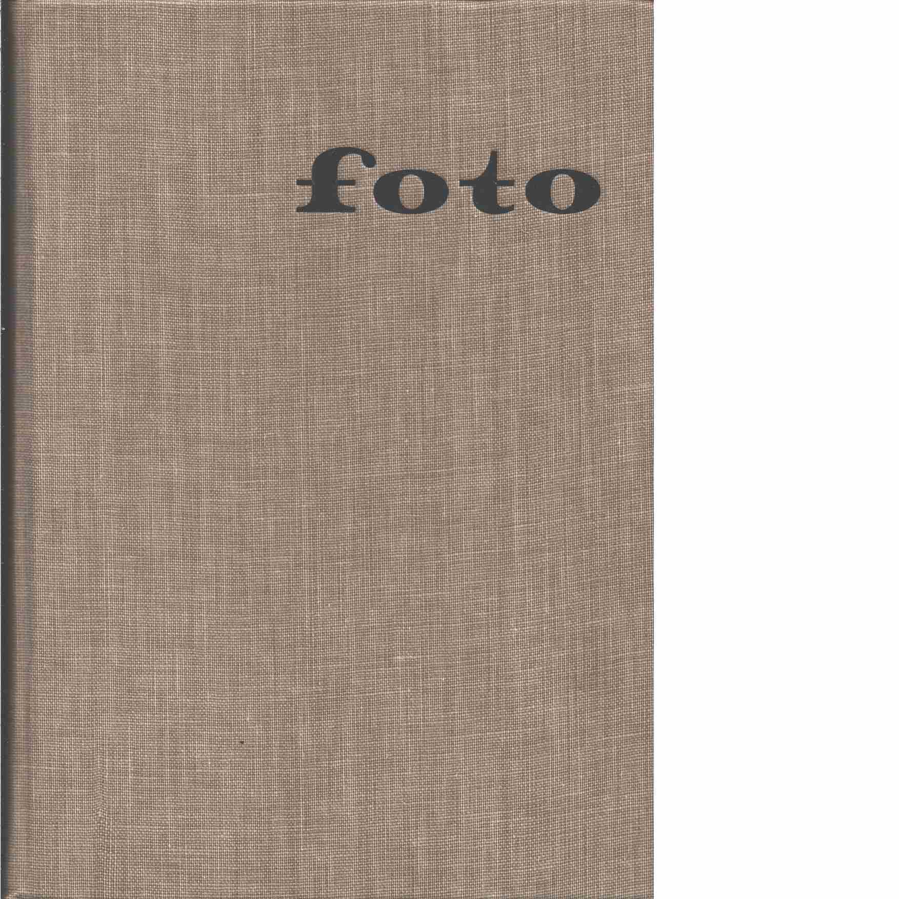Foto : tidskrift för foto och film i Skandinavien - Red.