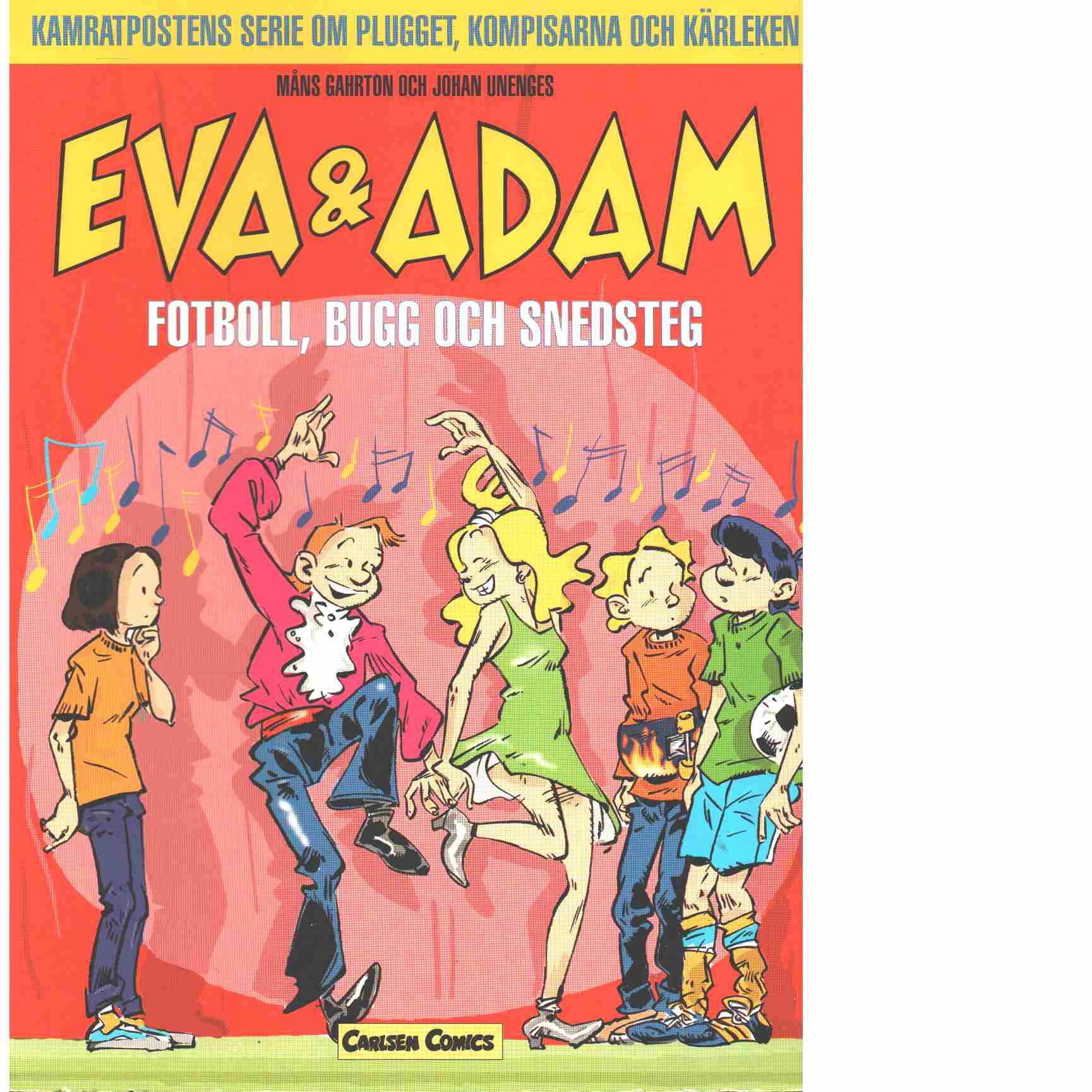 Eva & Adam  Fotboll, Bugg och Snedsteg - Gahrton, Måns och Unenge, Johan