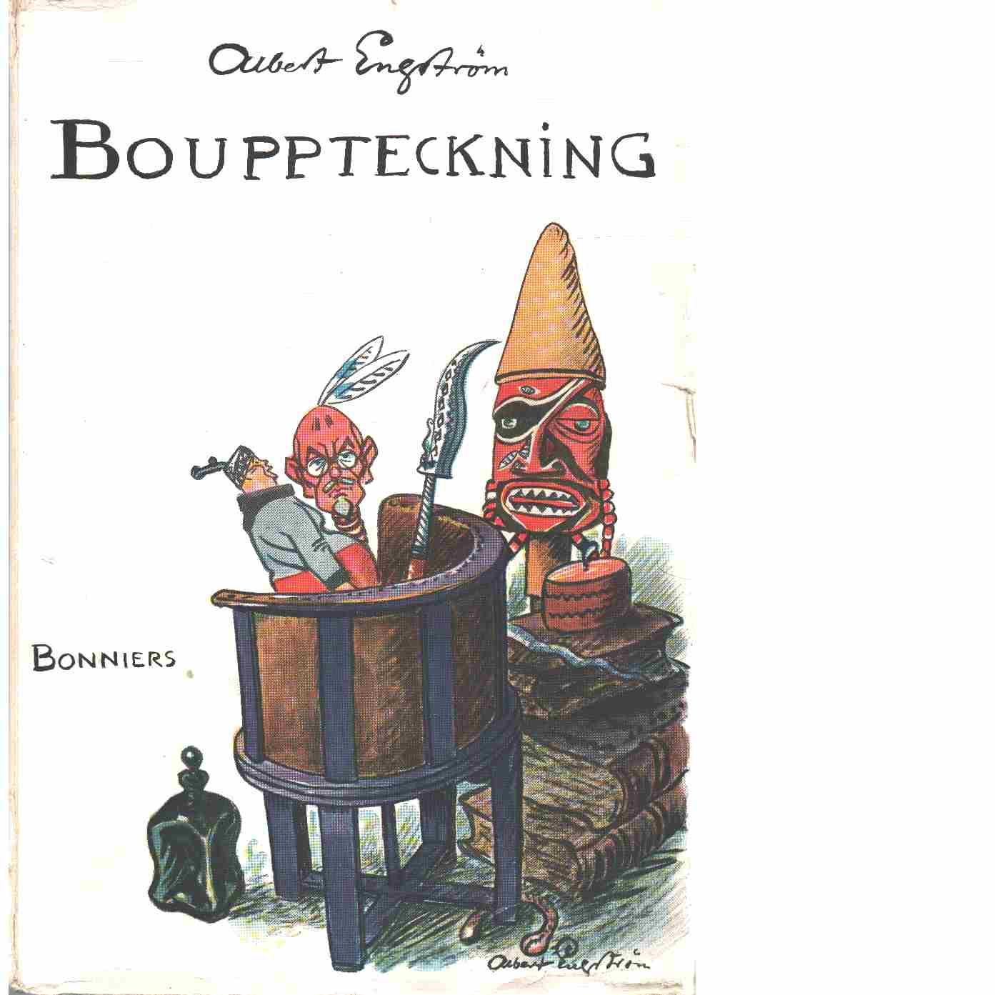 Bouppteckning - Engström, Albert