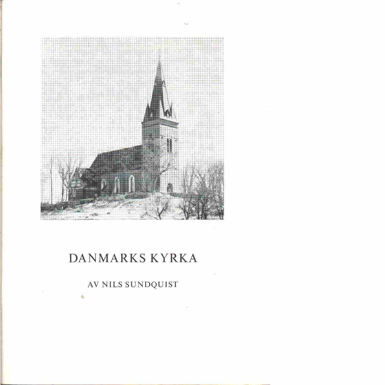 Danmarks kyrka - Sundqvist, Nils