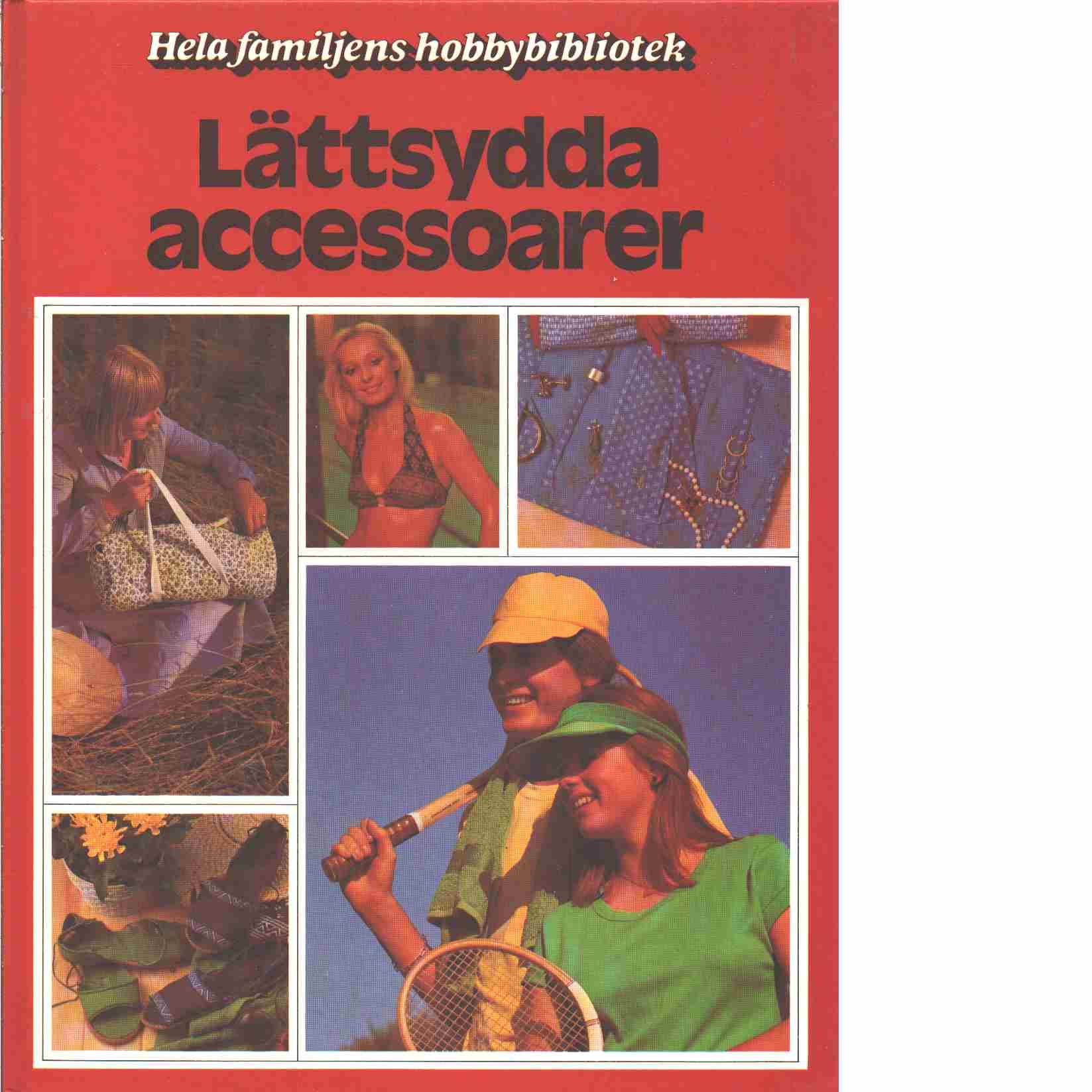 Lättsydda accessoarer - Red.Bruce, Pauline
