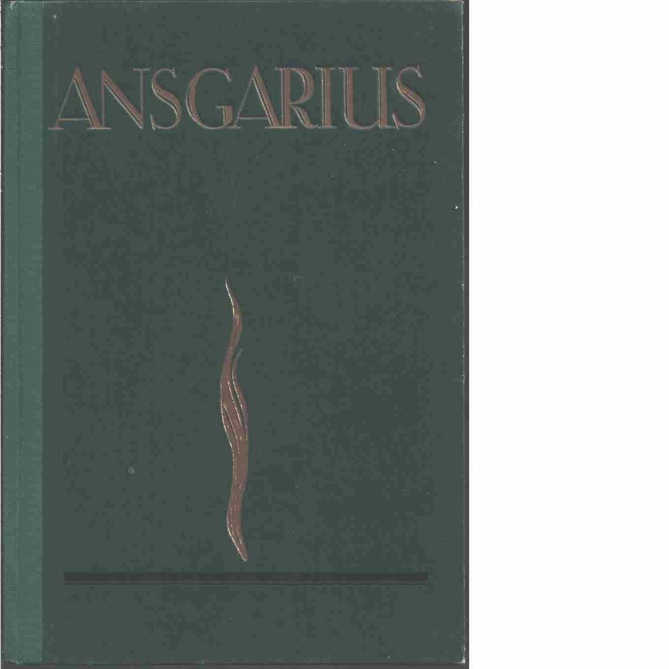 Ansgarius : Svenska missionsförbundets årsbok  - Red. Ansgarius : Svenska missionsförbundets årsbok