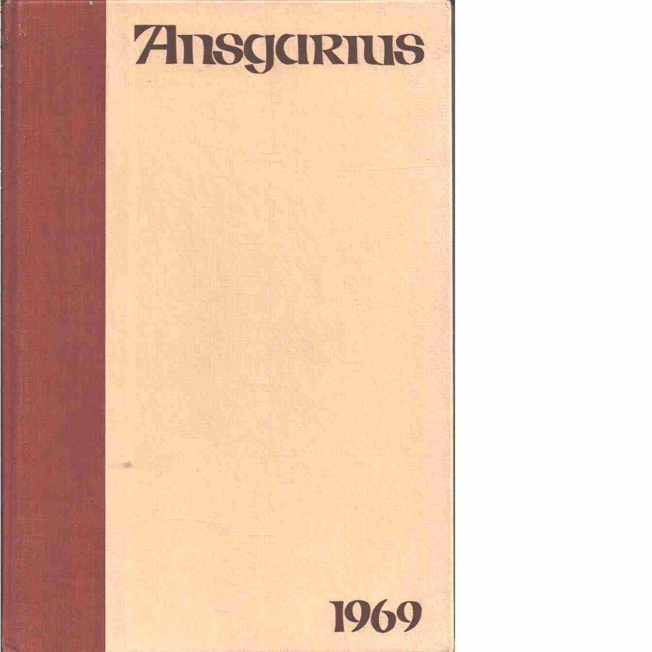 Ansgarius : Svenska missionsförbundets årsbok  - Red.  Svenska missionsförbundets årsbok