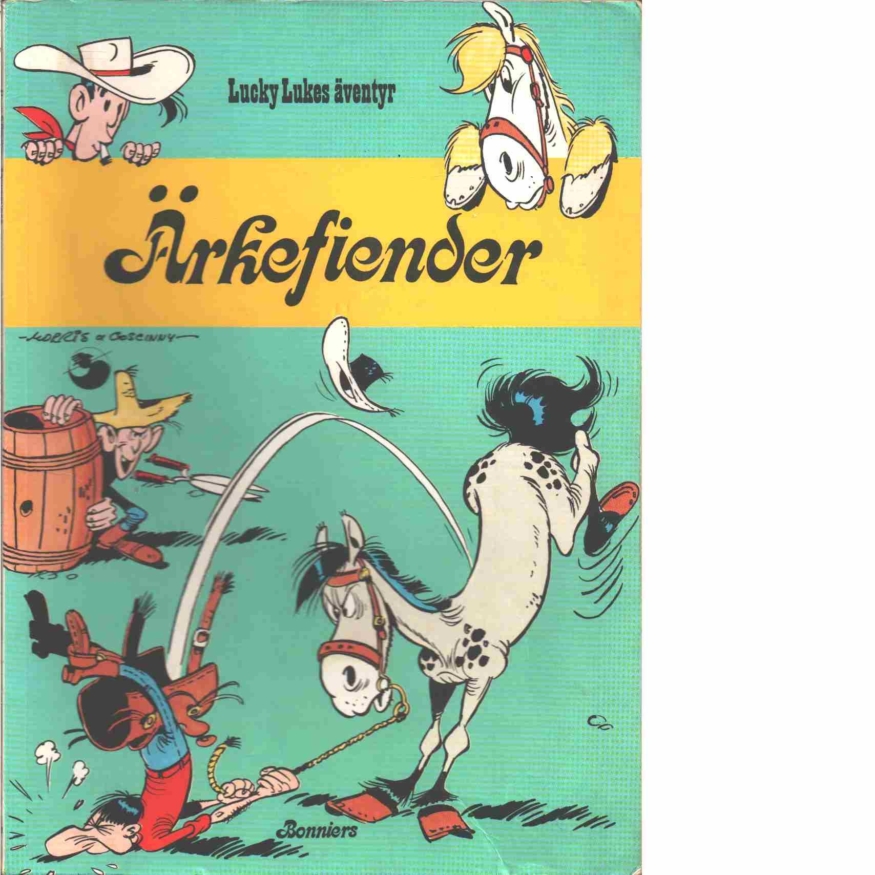 Lucky Lukes äventyr : Ärkefiender  - Morris och Goscinny, René
