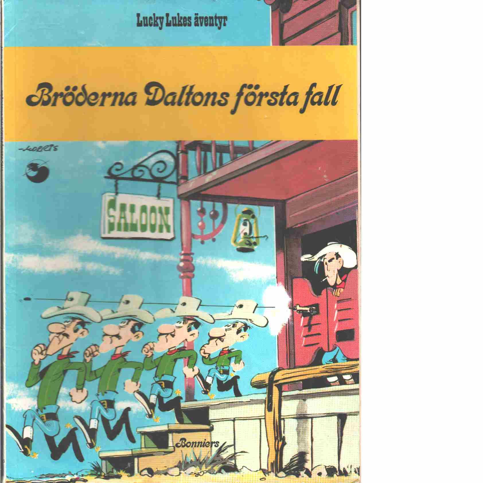 Lucky Lukes äventyr 30 : Bröderna Daltons första fall  - Morris och Goscinny, René