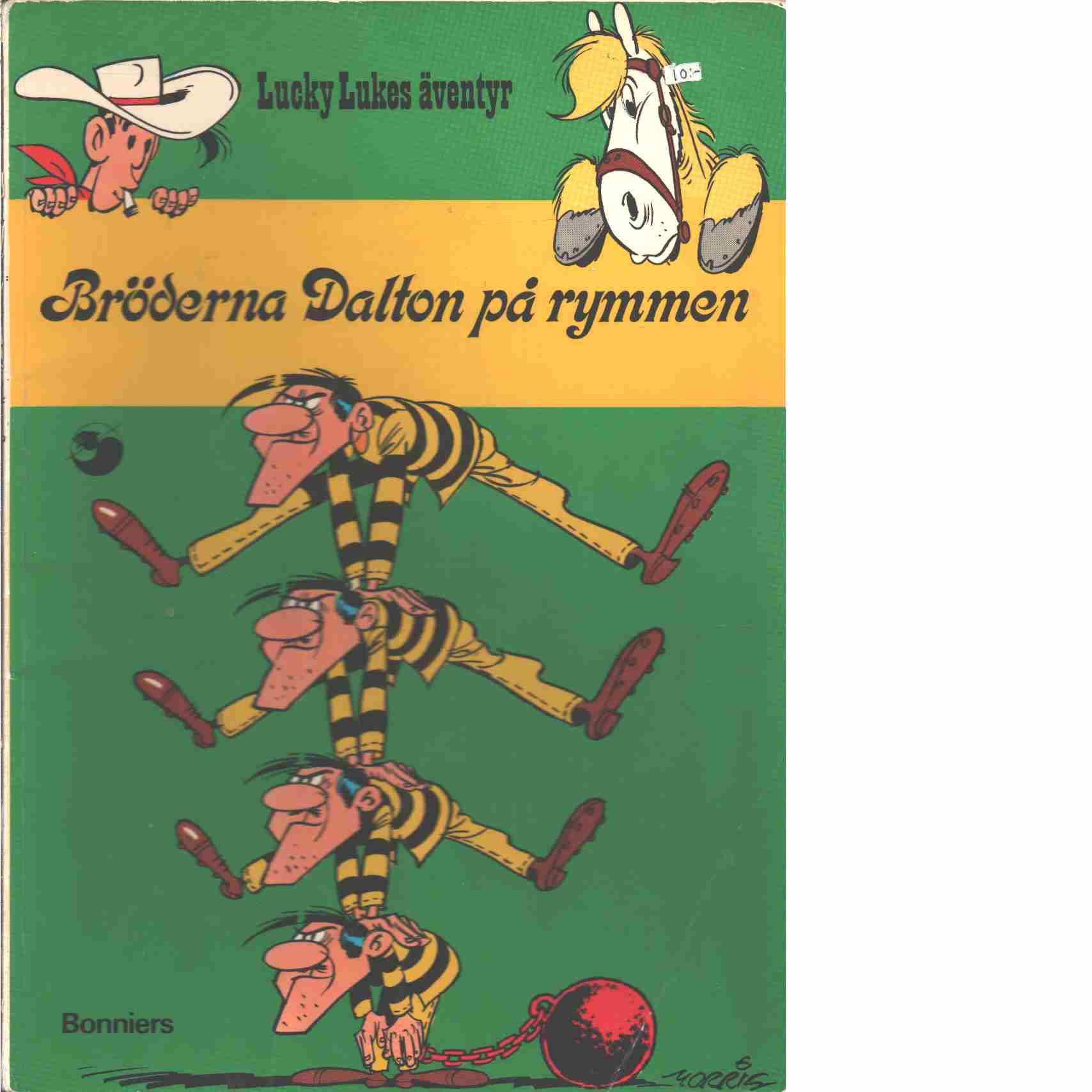Lucky Lukes äventyr : Bröderna Daltons på rymmen - Morris och Goscinny, René