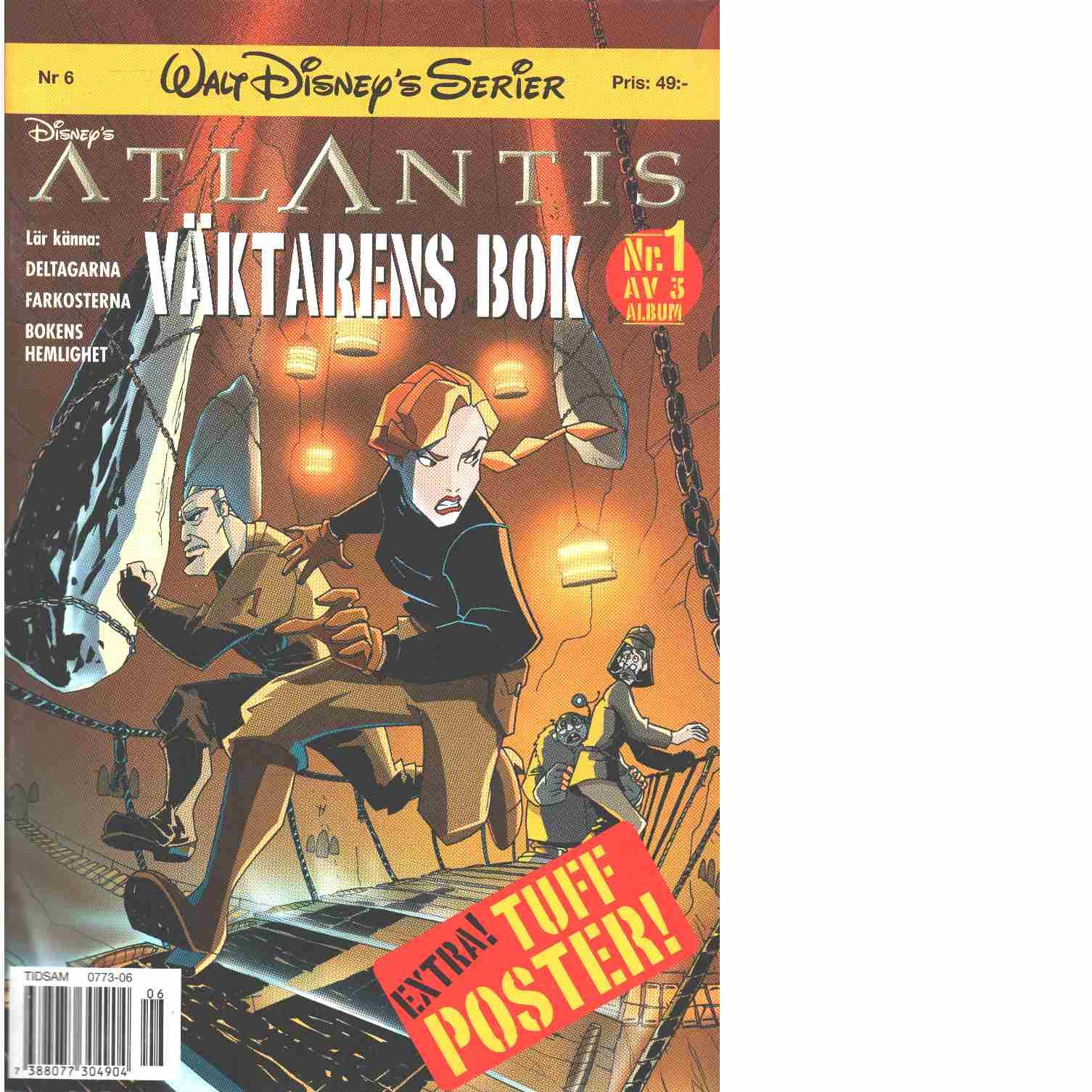Atlantis Väktarens bok - Disneys Walt