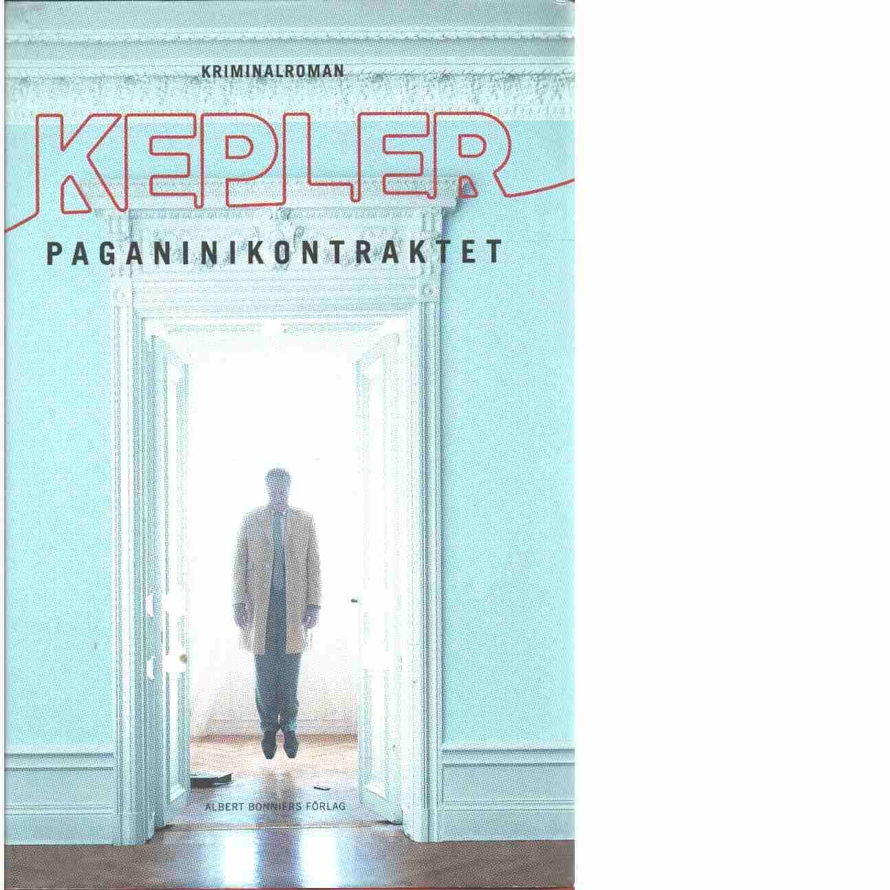Paganinikontraktet - Kepler, Lars