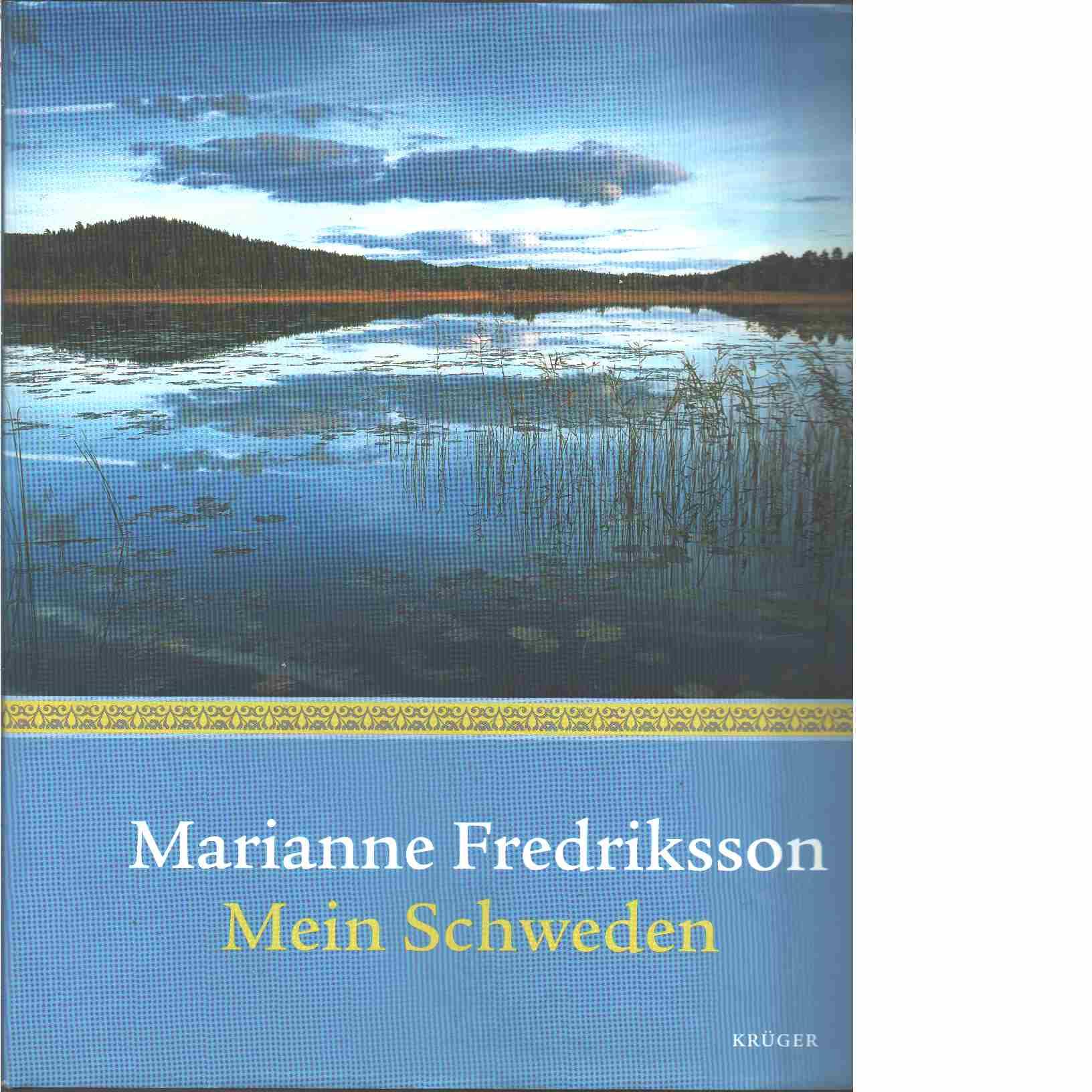 Mein Schweden - Red. Fredriksson, Marianne