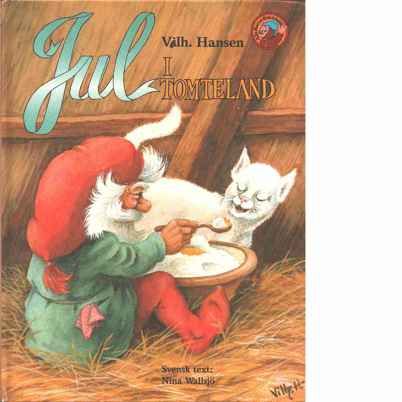 Jul i Tomteland - Hansen, Vilhelm