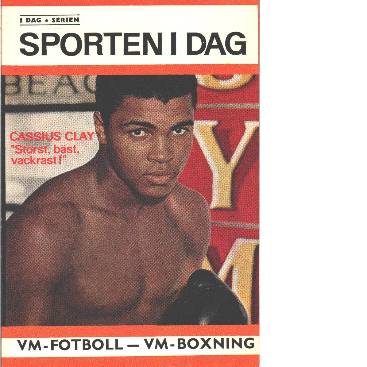 Sporten idag  1965-66 - Red.