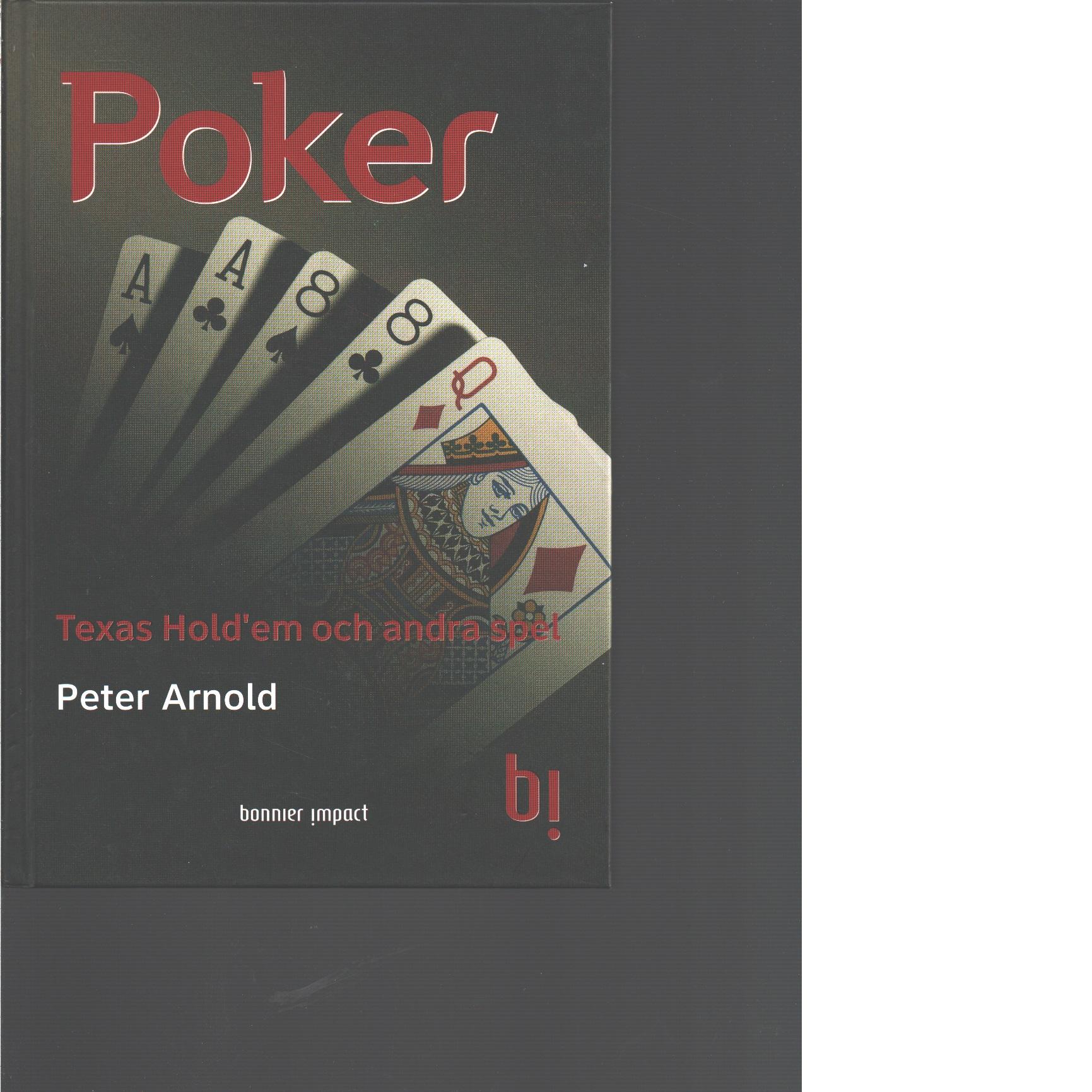 Poker - Arnold, Peter