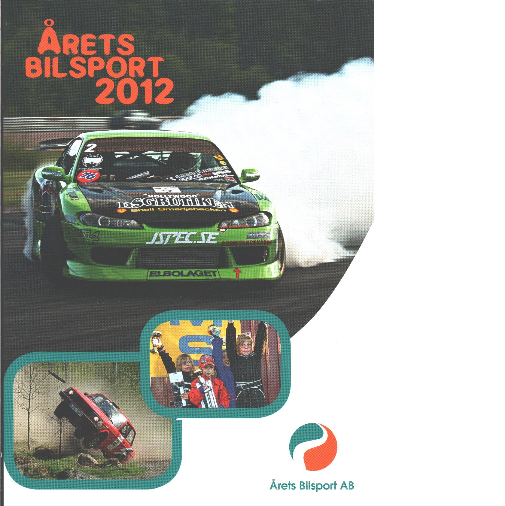 Årets bilsport 2012 - Annemo Friberg