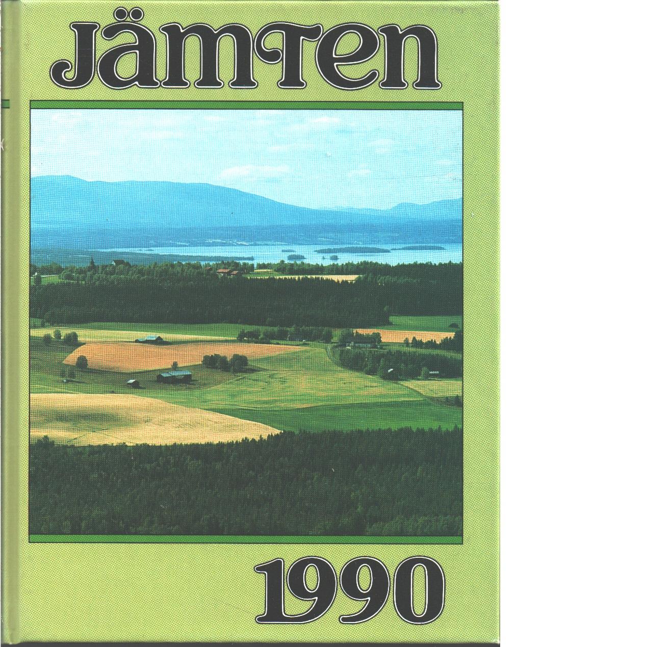 Jämten 1990 : Länsmuseets och Heimbygdas årsbok. Årg. 83 - Red.