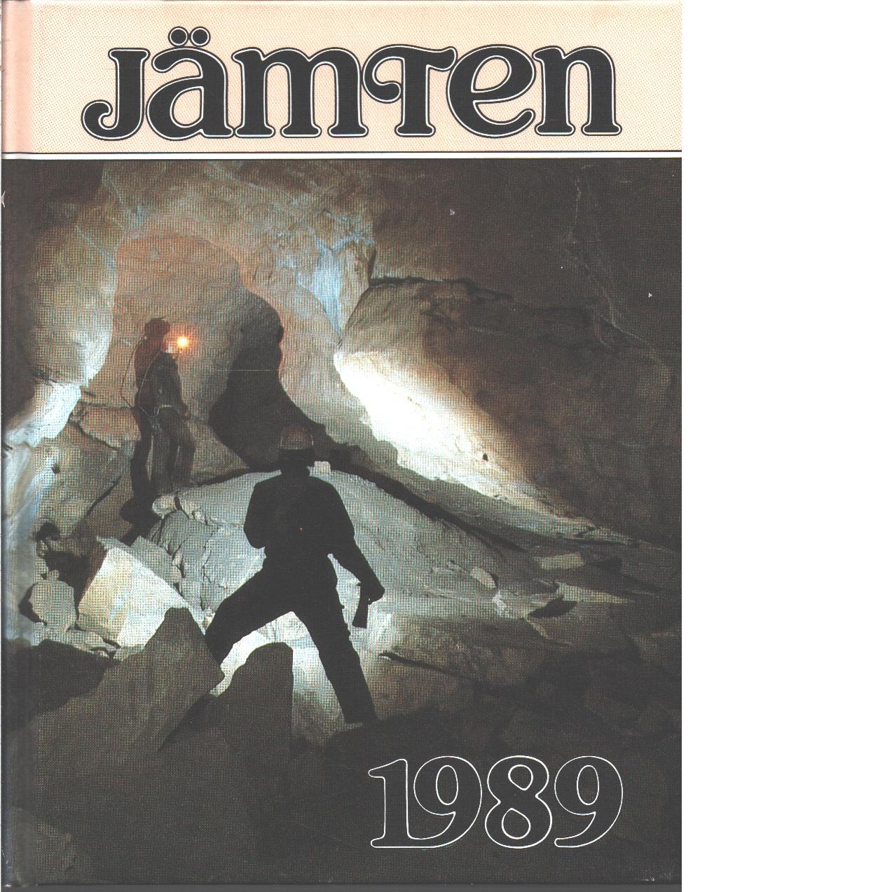 Jämten 1989 : Länsmuseets och Heimbygdas årsbok. Årg.  82 - Red.