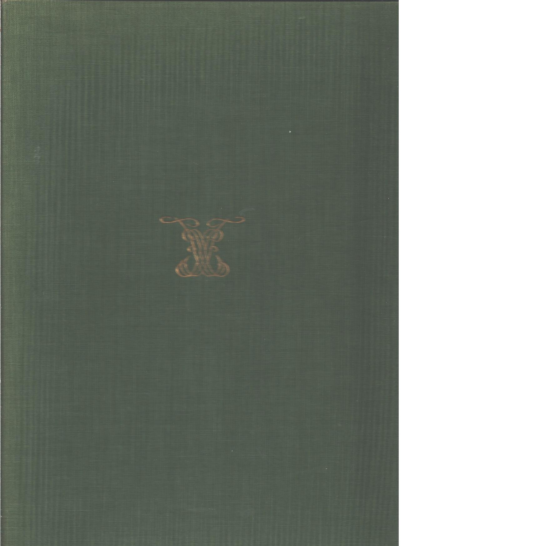 Form : Svenska slöjdföreningens tidskrift 1-6  1929 - Red.
