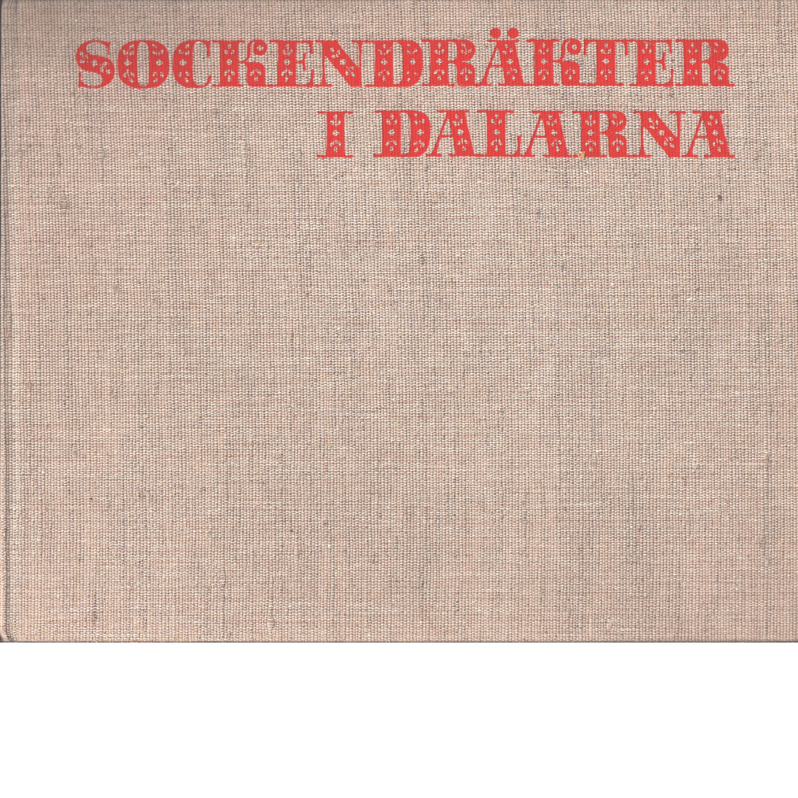 Sockendräkter i Dalarna - Red.