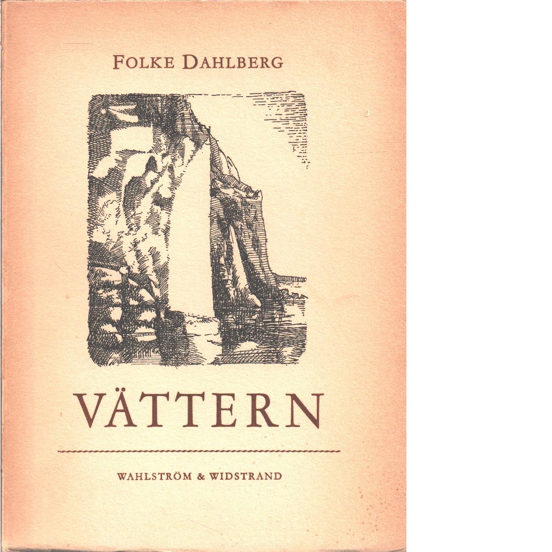 Vättern  - Dahlberg, Folke