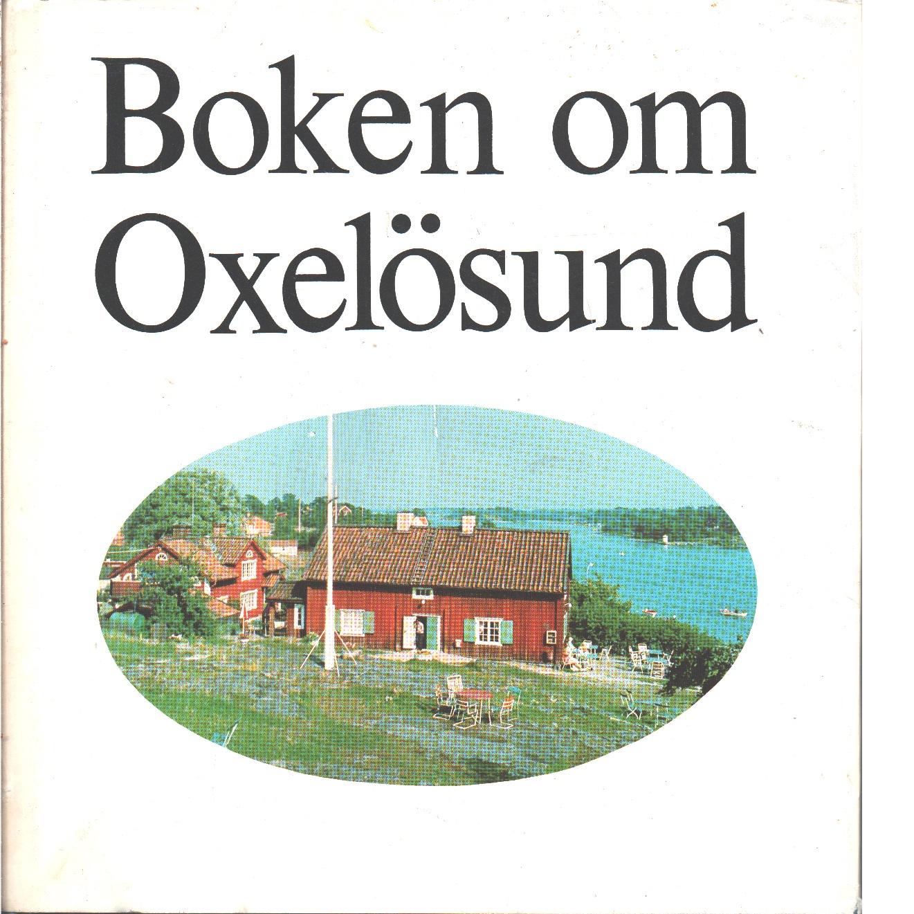 Boken om Oxelösund - Red.