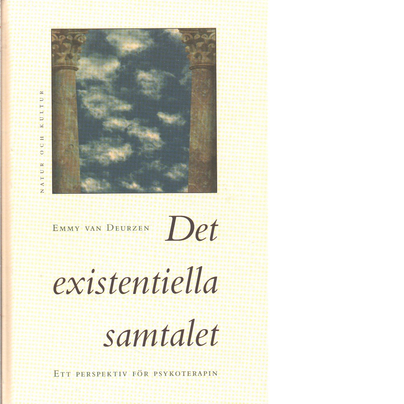 Det existentiella samtalet : ett perspektiv för psykoterapin - Van Deurzen-Smith, Emmy
