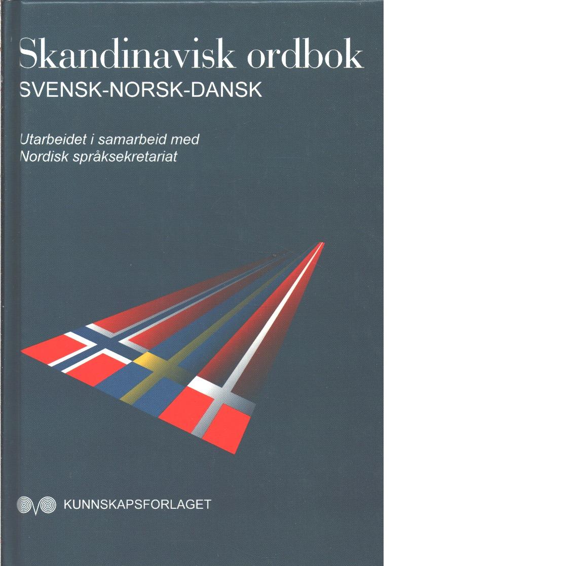 Skandinavisk ordbok  - Red. Lindgren, Birgitta