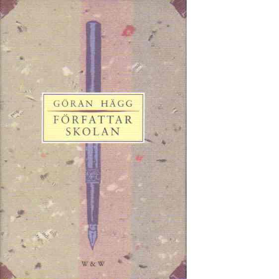 Författarskolan - Hägg, Göran
